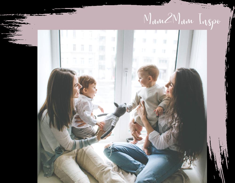 Mum-to-mum conversational interviews