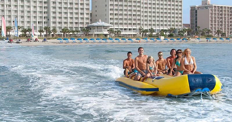 Banana Boat Rides Myrtle Beach