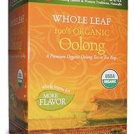Whole Leaf Organic Oolong Tea from Uncle Lee's Tea