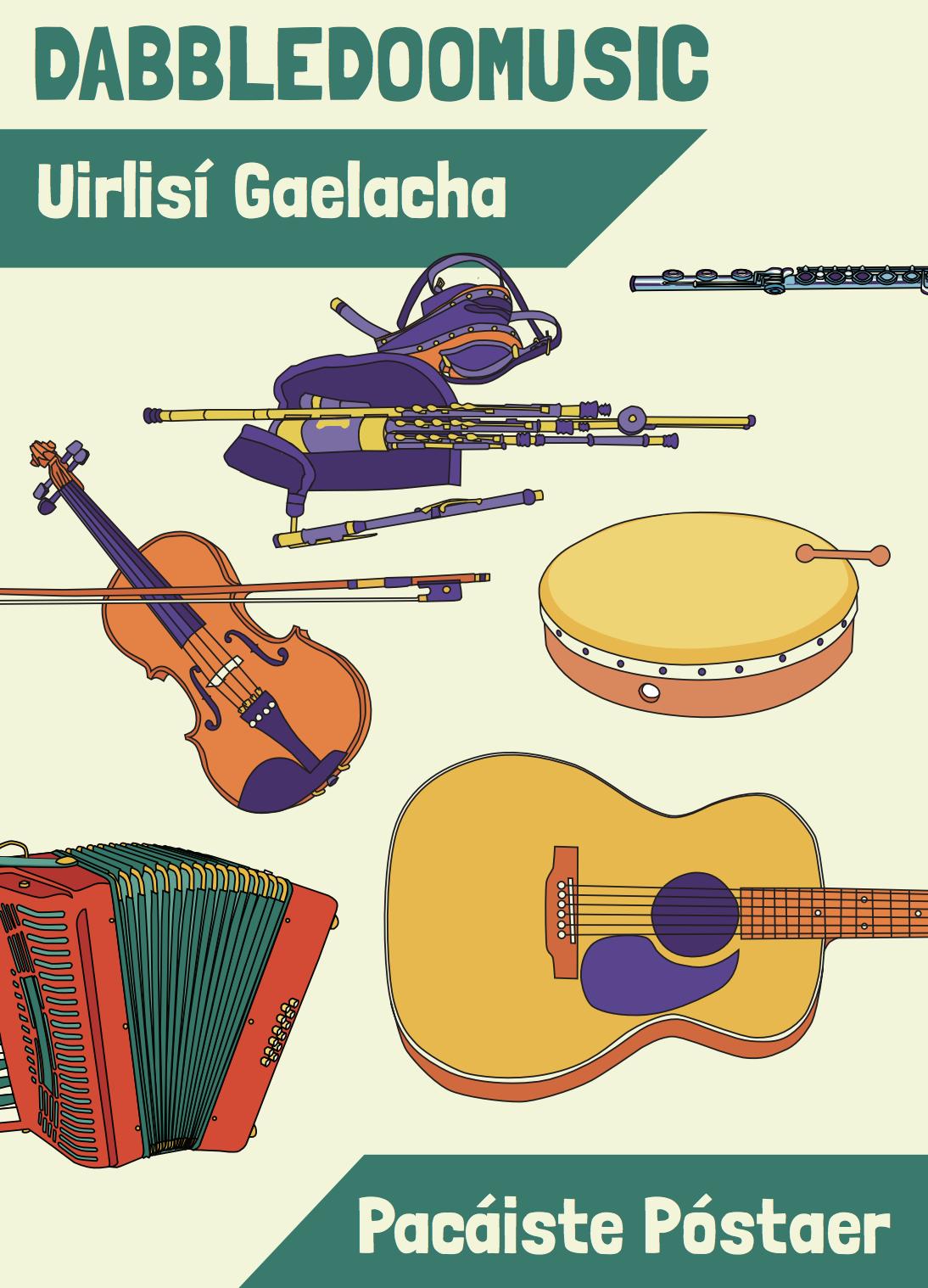 DabbledooMusic Seachtain Na Gaelige Poster Pack