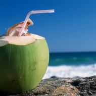 Coconut Water Green Tea from Madametj's Fresh Garden