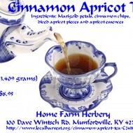 cinnamon apricot tea from Home Farm Herbery