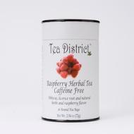 Raspberry Herbal Tea from Tea District