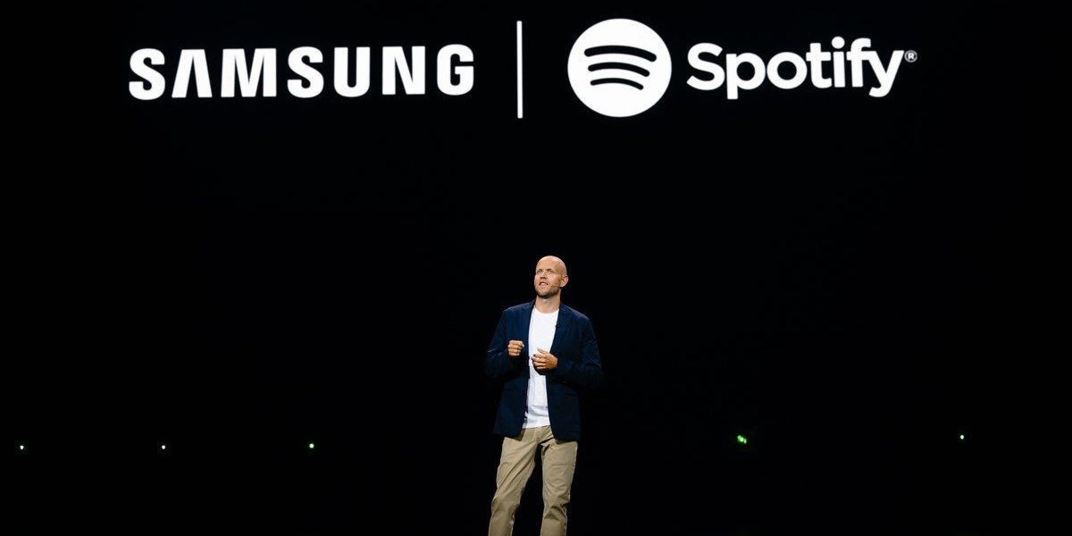 Spotify announces new partnership with Samsung