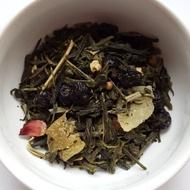 Lemon Blueberry Ginger Sencha from A Quarter to Tea