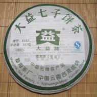 2008 Menghai Dayi Tea Factory * 8582 * Raw Pu-erh Tea cake from Menghai Tea Factory