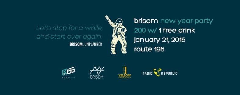 Brisom New Year Party