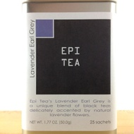 Lavender Earl Grey Biodegradable Pyramid Sachets from Epi Tea