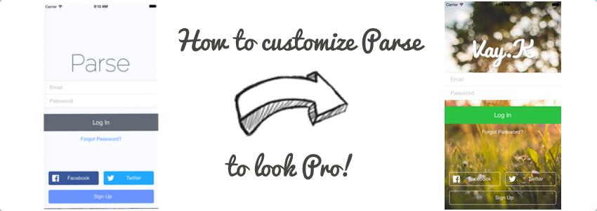 Parse Tutorial: Customizing Your Twitter/Facebook Signup/Login Views