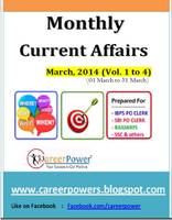 currrent affairs march 2014