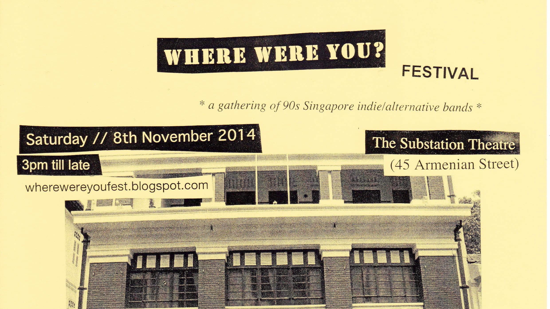 WHERE WERE YOU? Festival