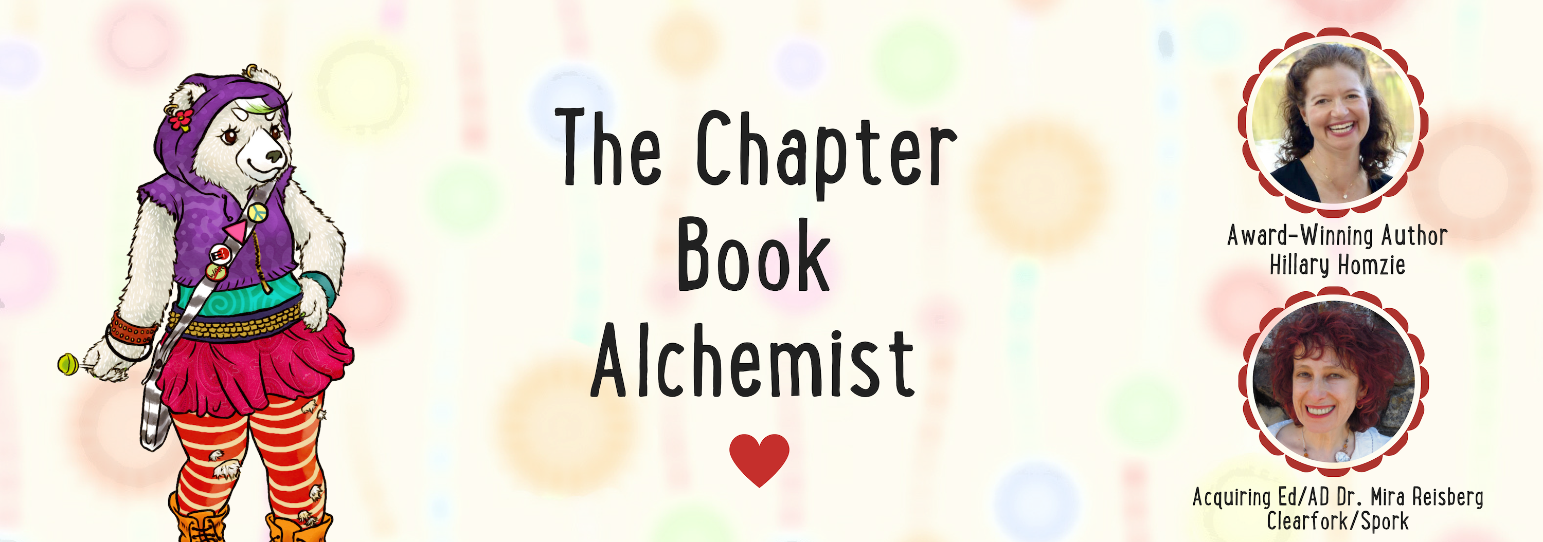 The Chapter Book Alchemist at the Children's Book Academy