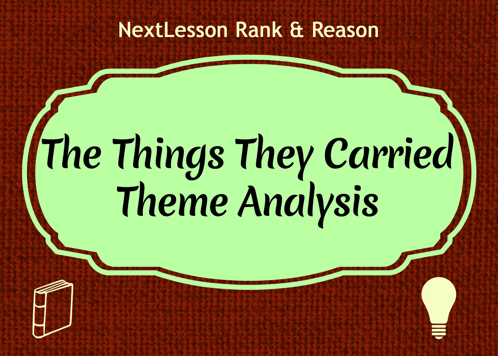 The things they carried theme analysis essay