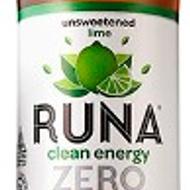 Lime Zero Unsweetened Guayusa from Runa