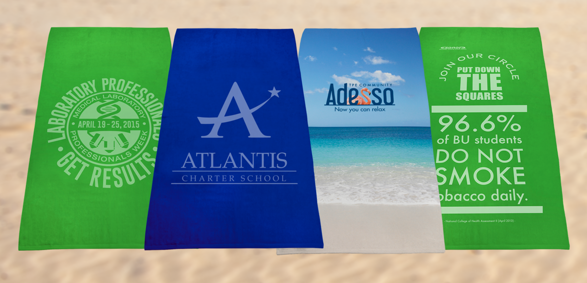 Use Custom Beach Towels as Mobile Billboards to Boost Exposure for Your Brand