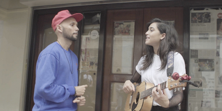 WATCH: Jess Kent performs at Haji Lane with THELIONCITYBOY