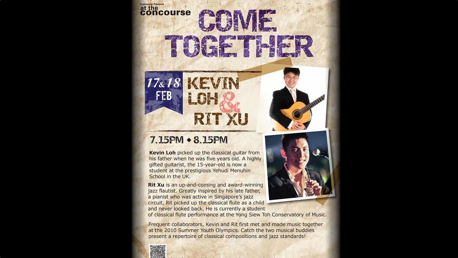 Kevin Loh & Rit Xu