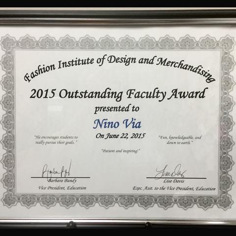 Outstanding Faculty Award ~ Best Teacher