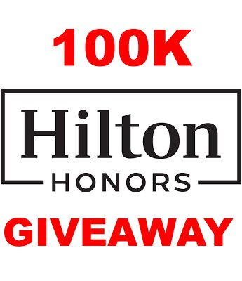 [loyaltylobbygiveaway]          100,000 Hilton Honors Hotel Points