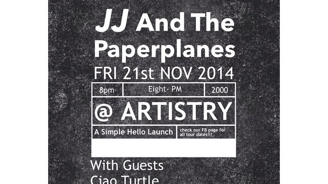 JJ And The Paperplanes