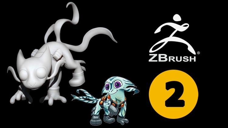 Vol 1-8 Serie Creación de personajes 3D en Zbrush de Cero a Héroe:
