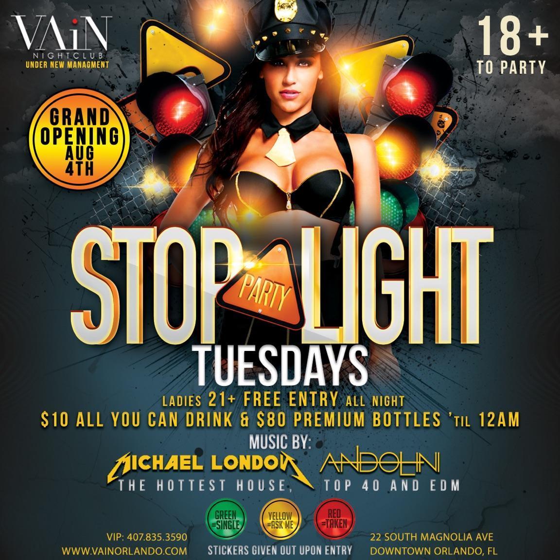 Stop Light Tuesdays