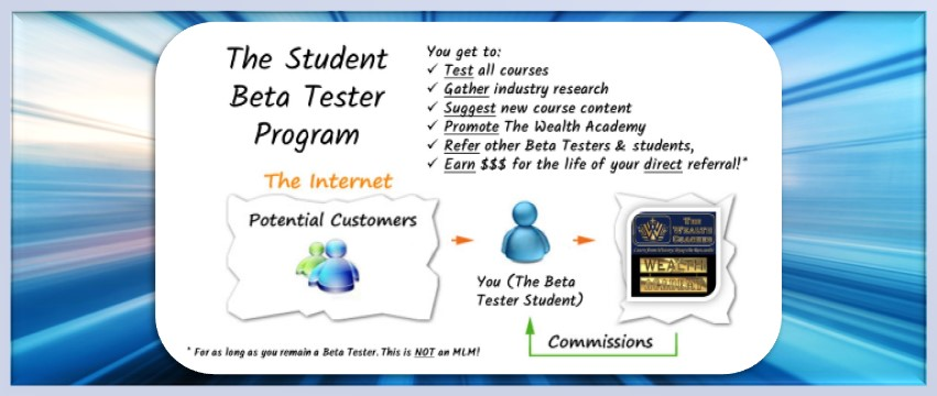 Join the Beta Tester Program - Click to Learn More Now!