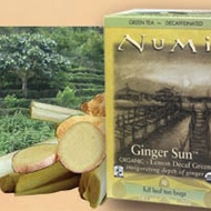 Decaf Ginger Lemon (Ginger Sun Lemon Decaf Green) from Numi Organic Tea