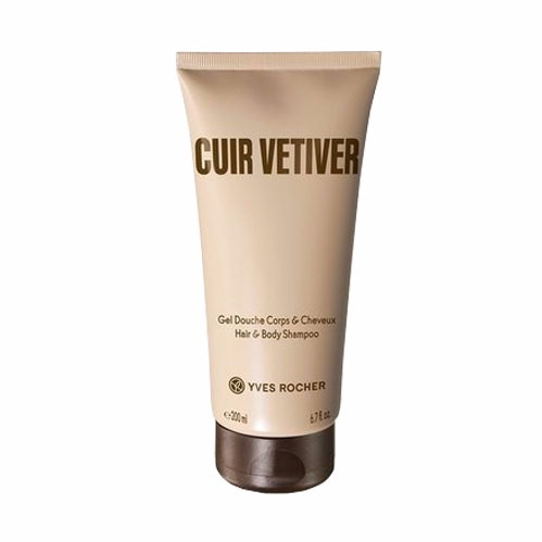 Cuir Vetiver Shampoing Douche