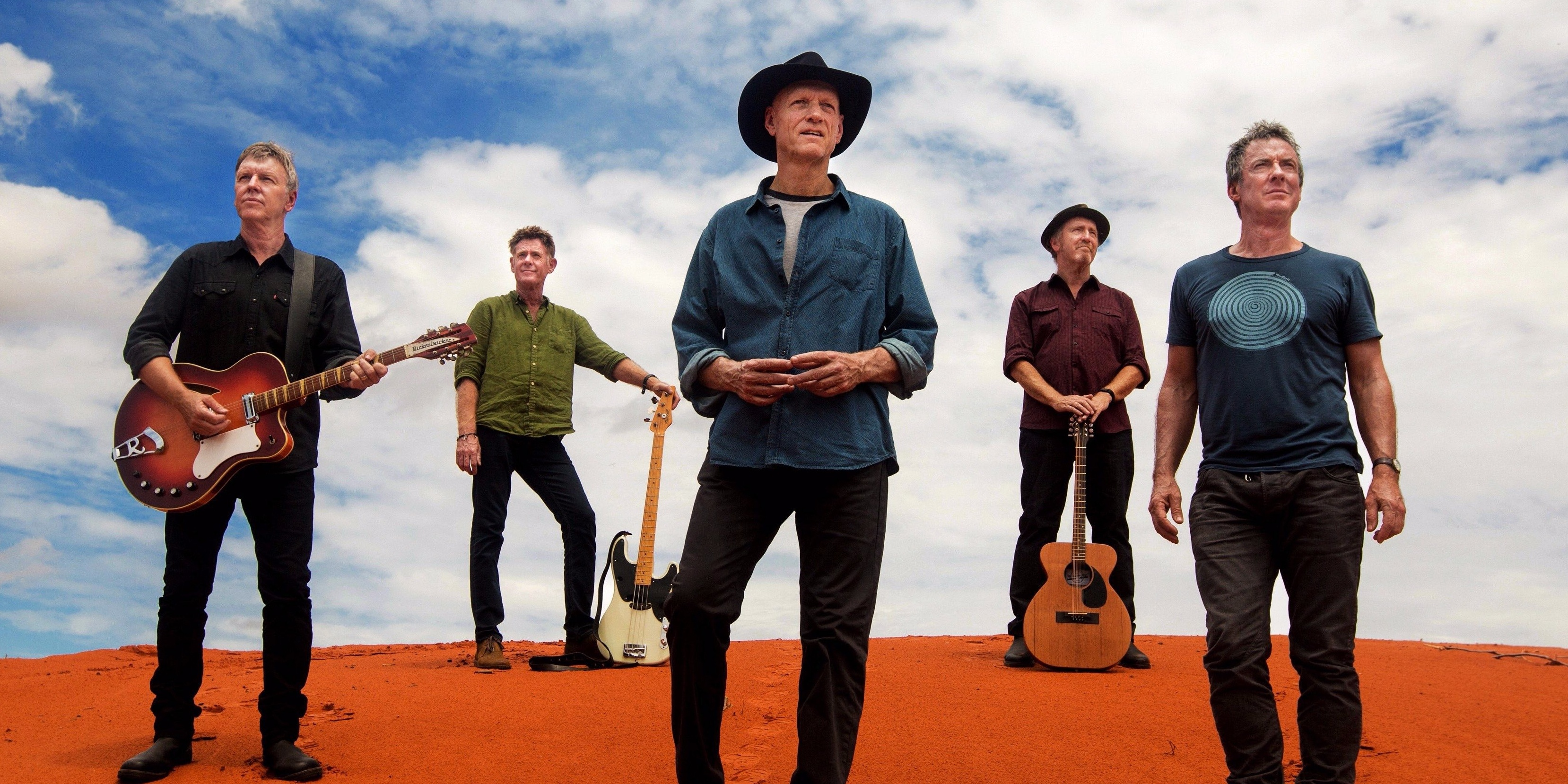 Midnight Oil mark down Singapore for The Great Circle 2017 world tour