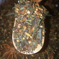 Blueberry Sandstorm Genmaicha from Liquid Proust Teas