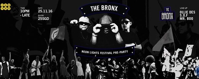 The Bronx: Neon Lights Festival pre-party