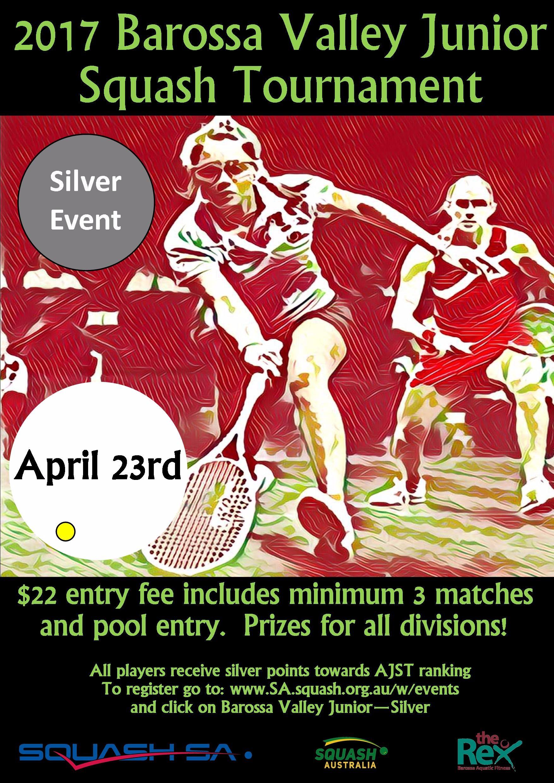 2017 Barossa Valley Junior Squash Tournament