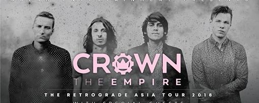 Rockiss Presents Crown The Empire Live in Singapore