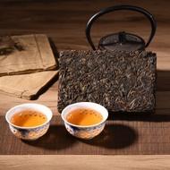2003 Bu Lang Mountain Raw Puerh Brick from Yunnan Sourcing