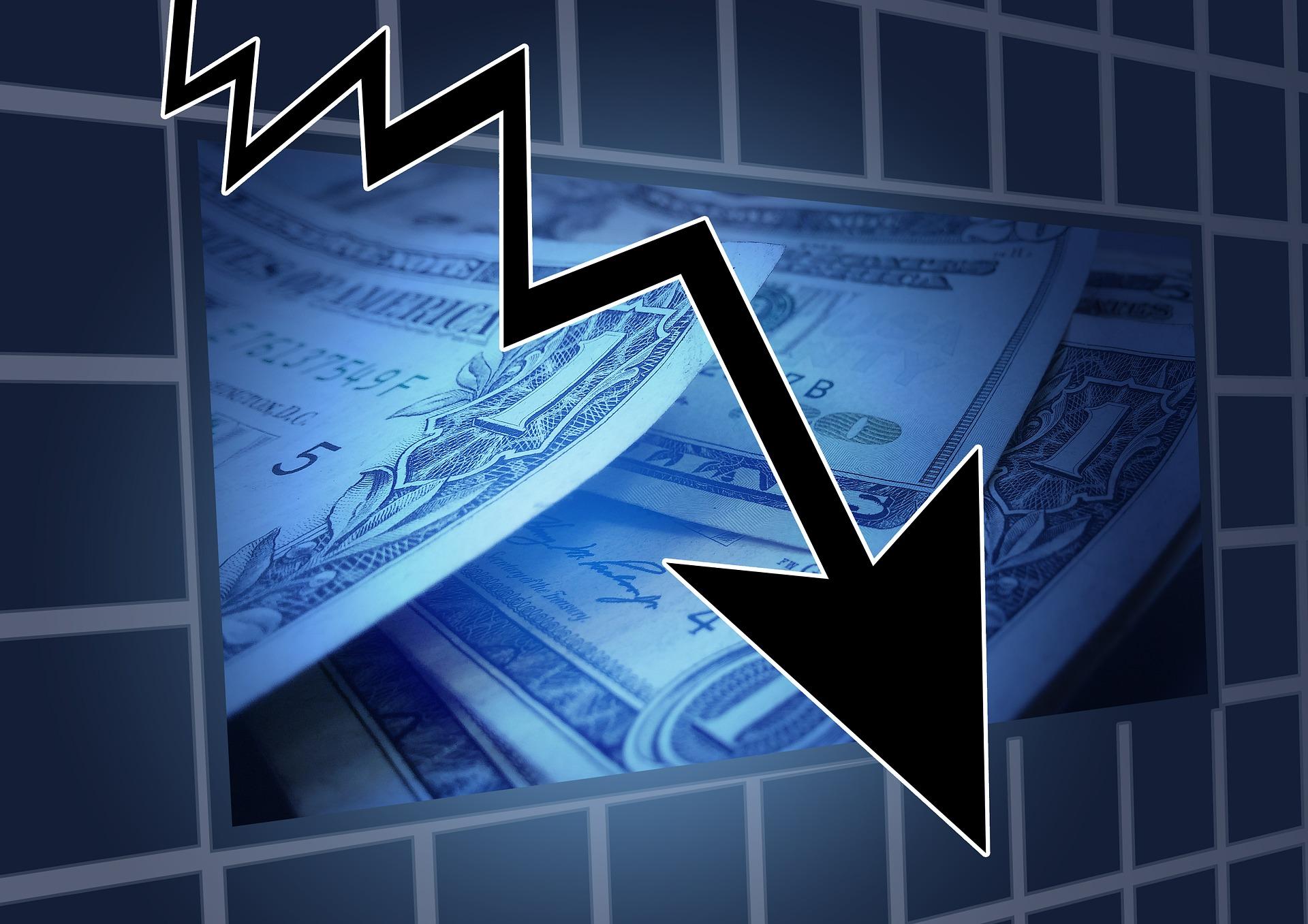 Finance en baisse