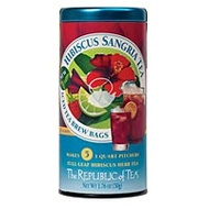 Sangria Hibiscus Iced Tea Brew Bags from The Republic of Tea