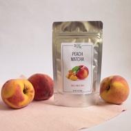 Peach Matcha from 3 Leaf Tea