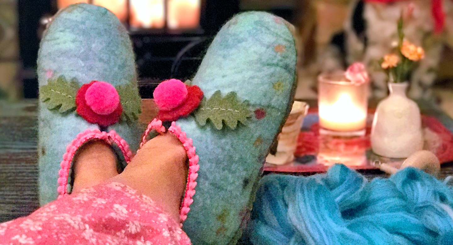 Online Felt Slippers Course