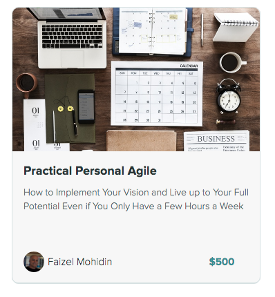 practical personal agile course