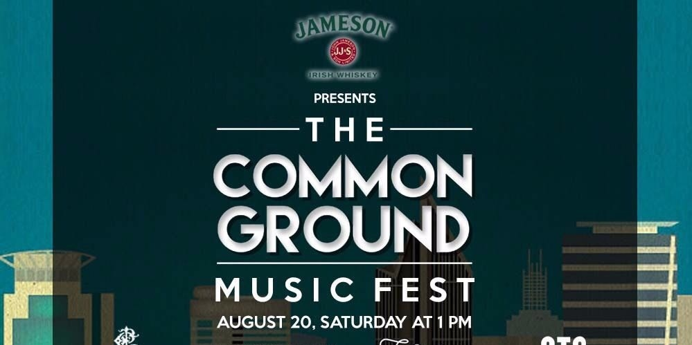 The Common Ground Music Fest unveils full line up