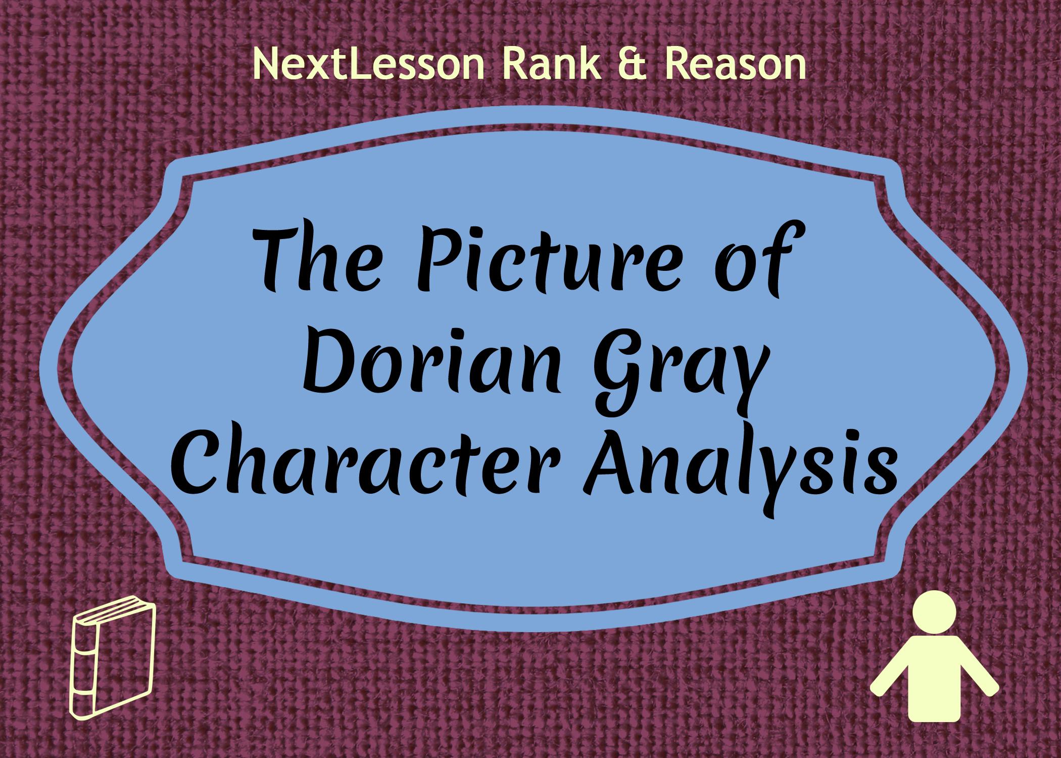 character analysis essay dorian gray