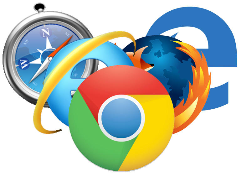 Different web browsers