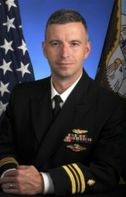 Navy Cmdr. Paul Sargent, MD