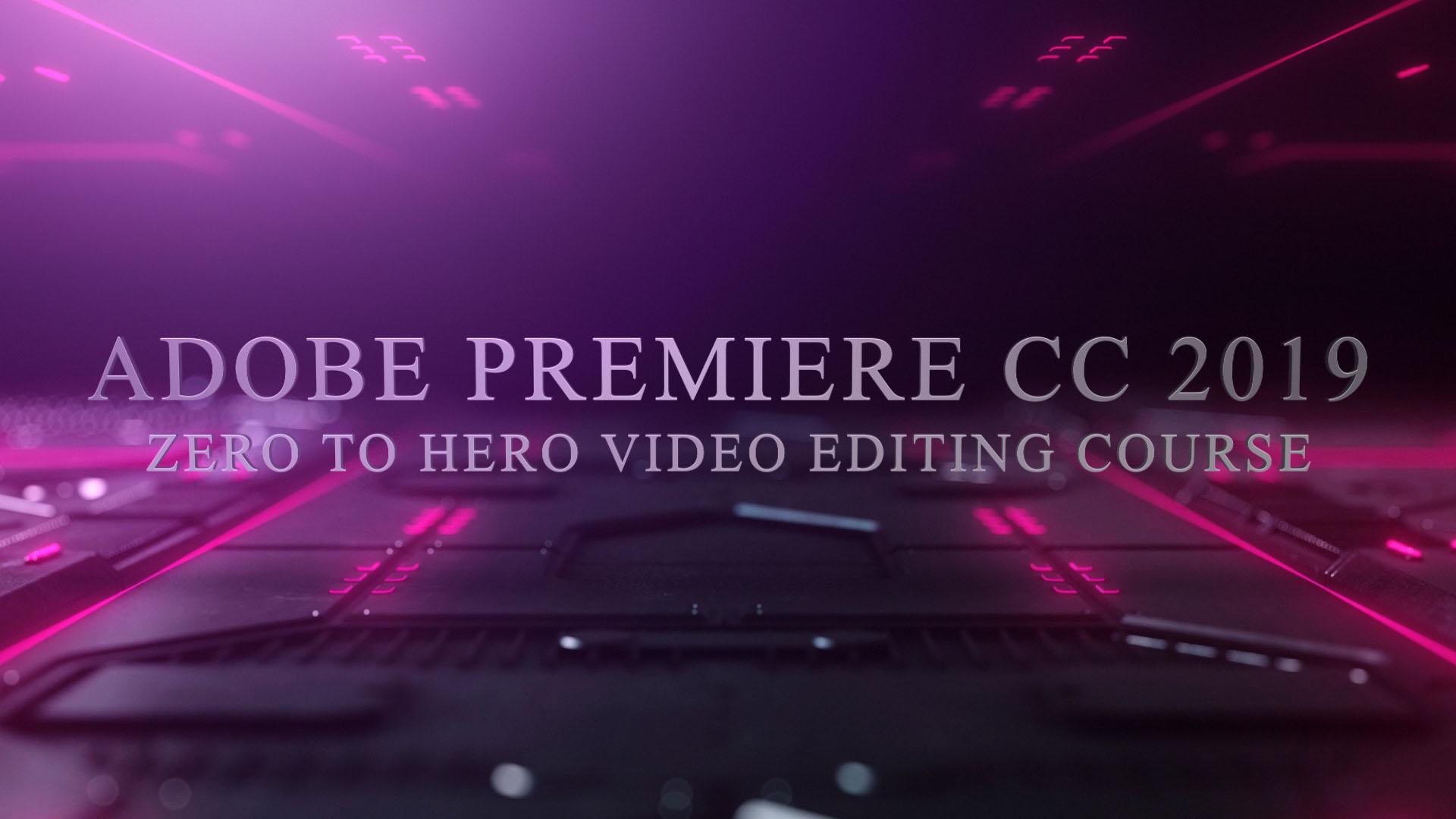 Adobe premiere pro cc specs