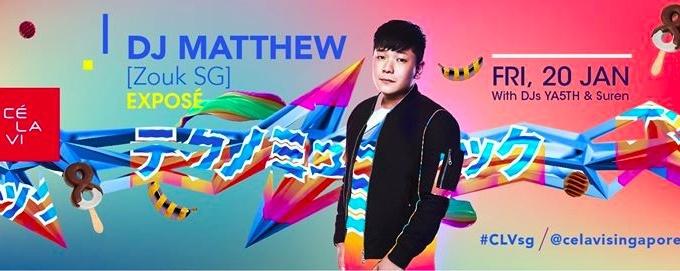 Exposé featuring DJ Matthew [ZOUK SG]