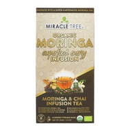Super-Caffeinated Moringa Infusion Chai from Miracle Tree