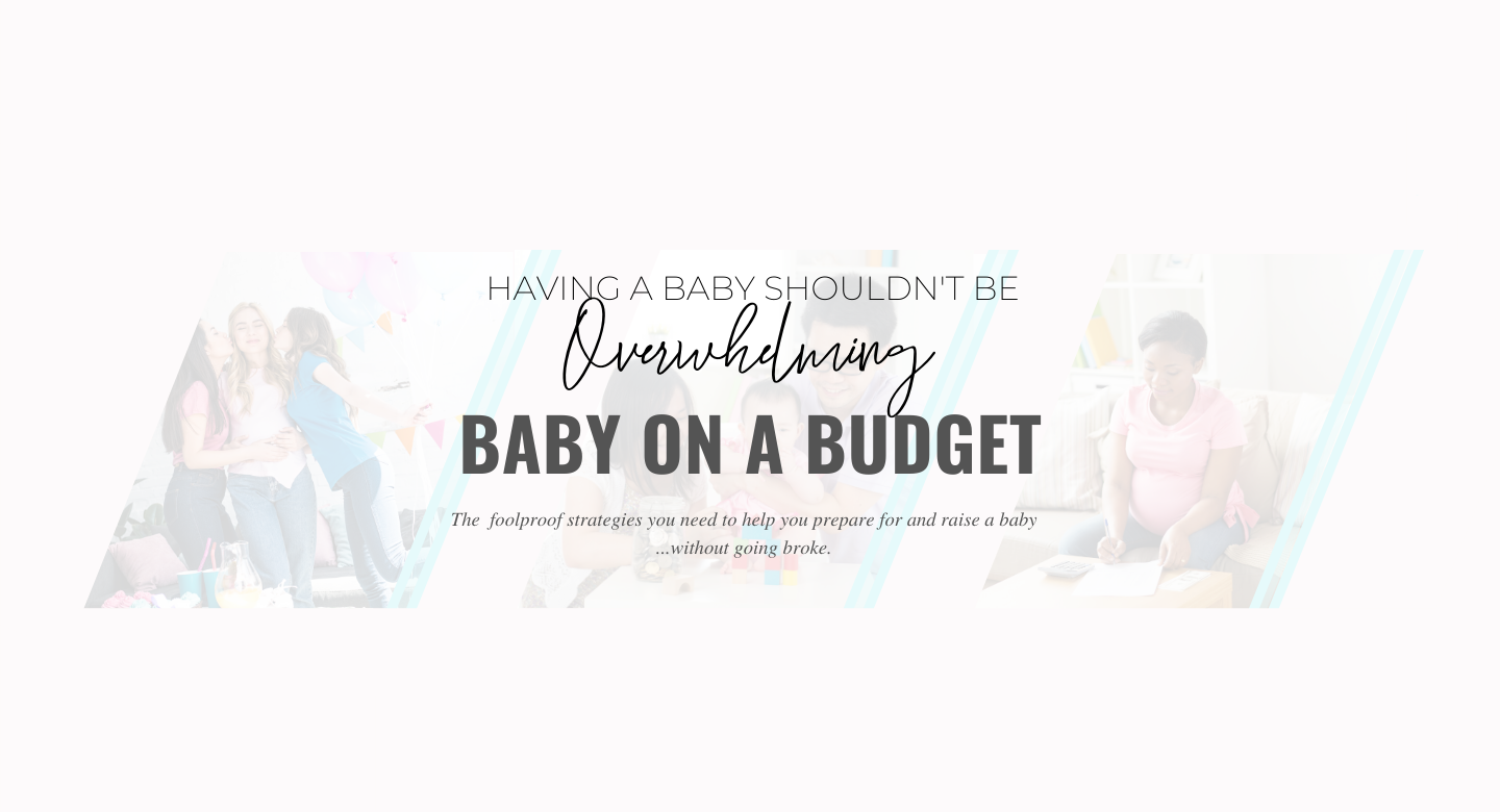 Blunders in Babyland - baby on a budget sales page