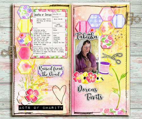 Bible Journaling in a Travelers Notebook Proverbs 31 & Bible Women Study #BibleJournaling #Traverlersnotebook