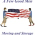 A Few Good Men Moving & Storage, LLC | Henderson NC Movers